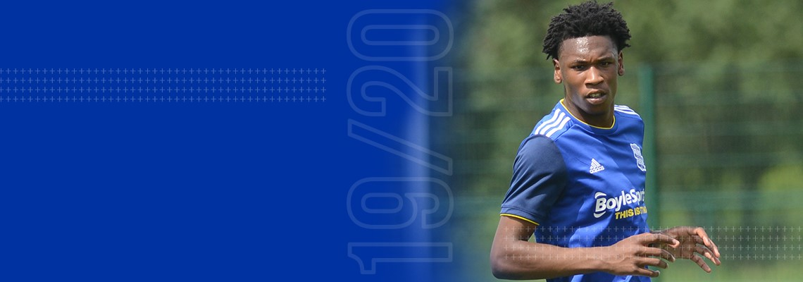 Blues Under-18s captain Nico Gordon
