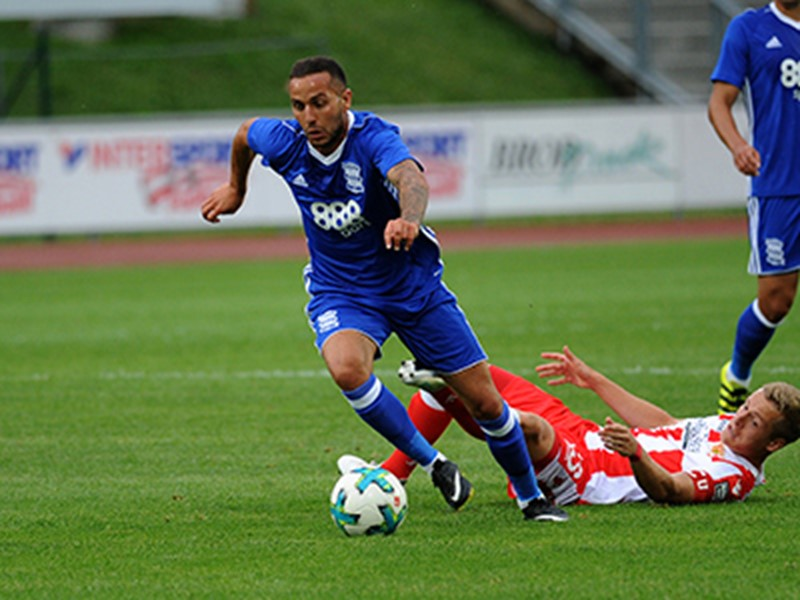 Kerim Frei in action for Blues