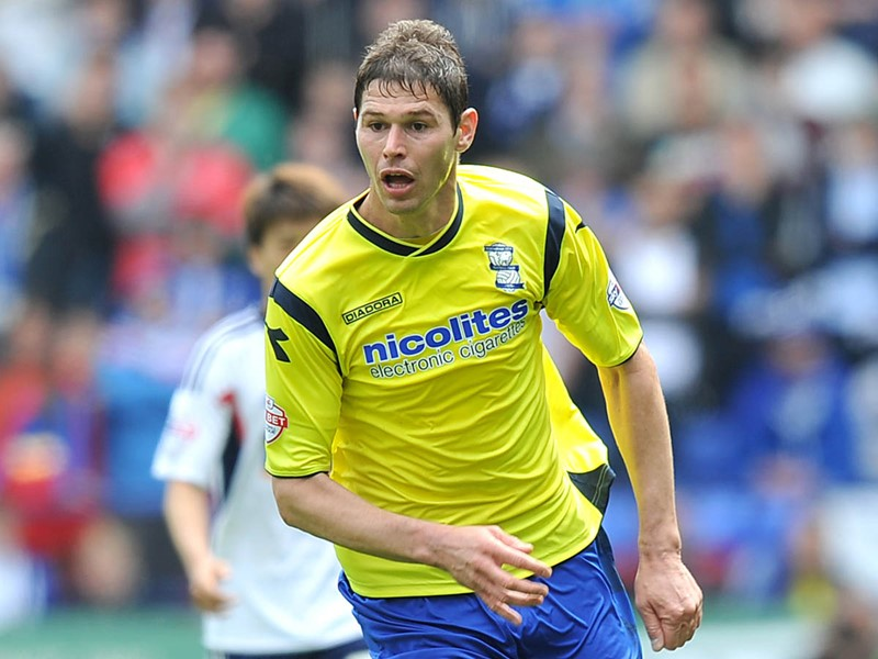 Nikola Zigic during his time with Blues.