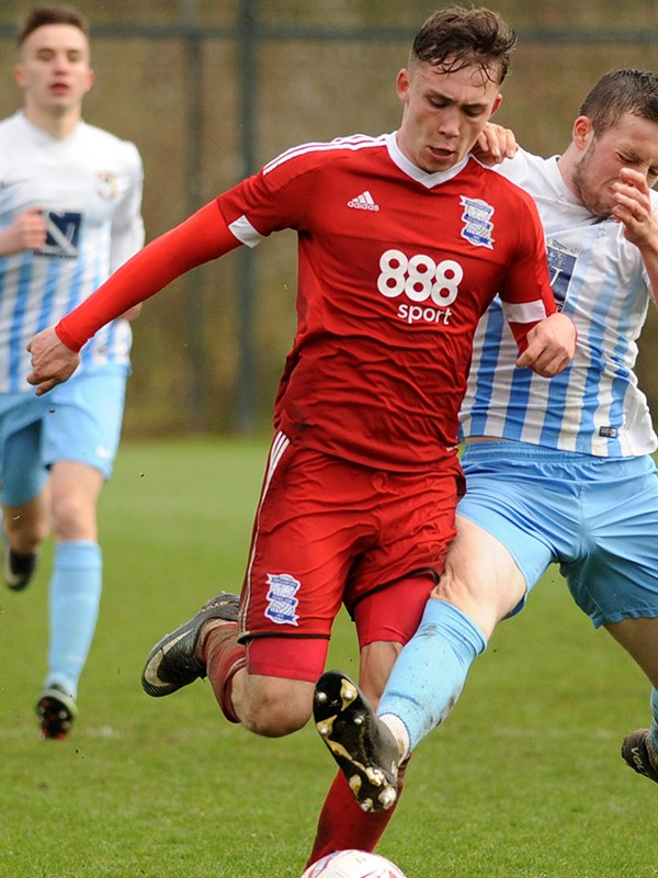 Ollie McCoy - midfielder - U23s