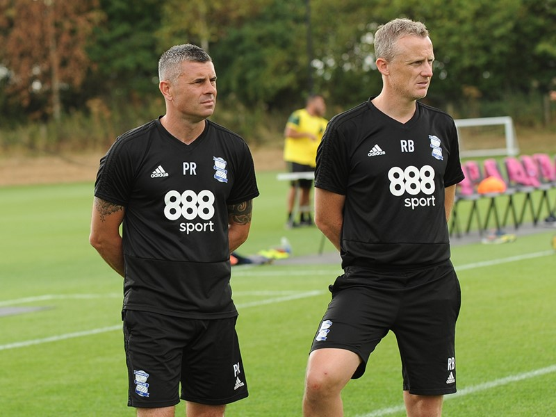 Paul Robinson and Richard Beale.