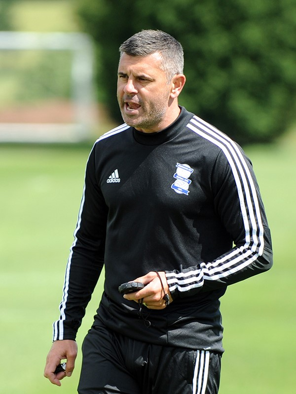 Paul Robinson - lead professional development coach - U18s
