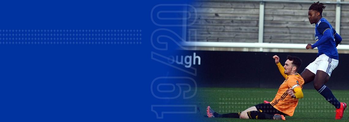Jayden Reid fires his and Blues second goal