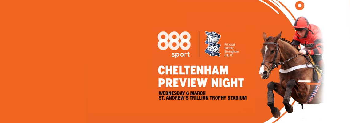 Blues' Cheltenham Festival Preview tickets now on sale