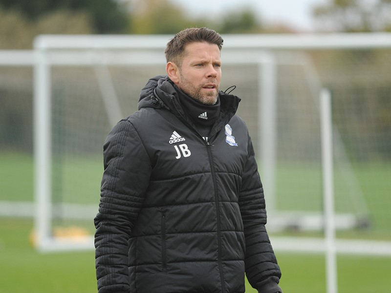 First Team Coach James Beattie.