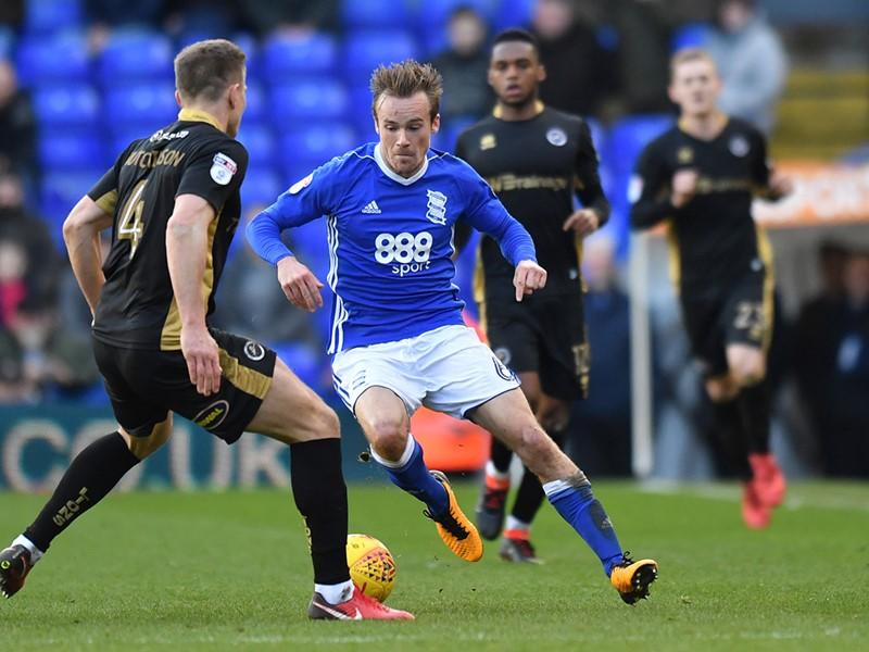 Maikel Kieftenbeld in action against Millwall.
