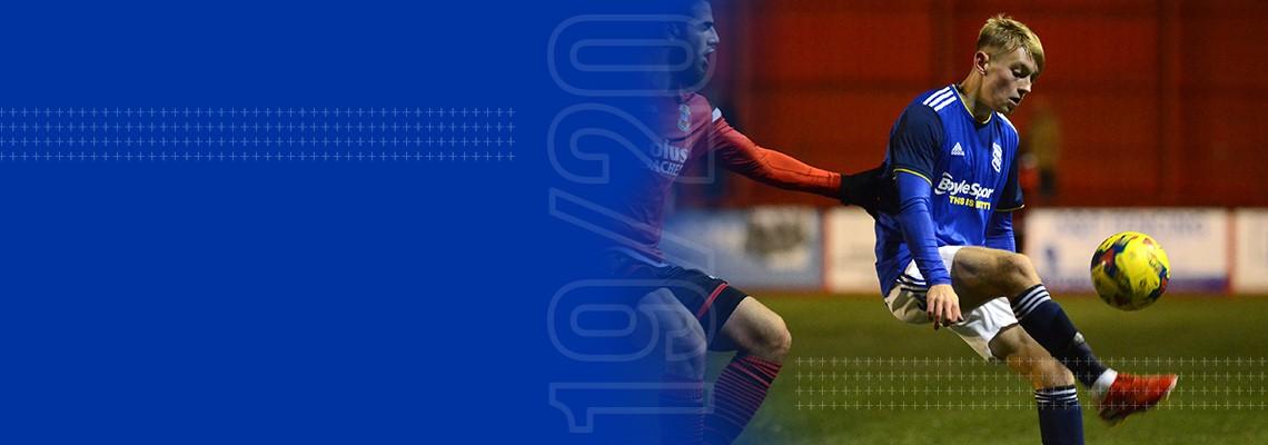 Blues goalscorer Jack Concannon