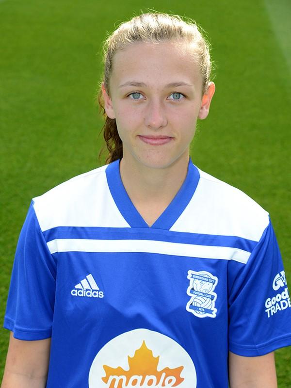 15 - Charlie Wellings - forward - Women's Team