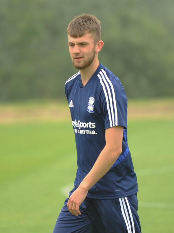 George Baker - midfielder - U23s