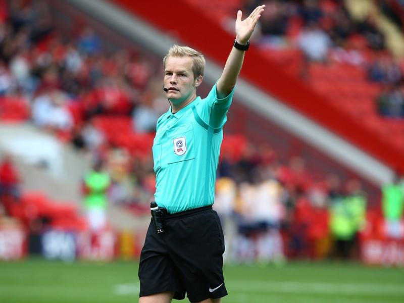 Referee Gavin Ward