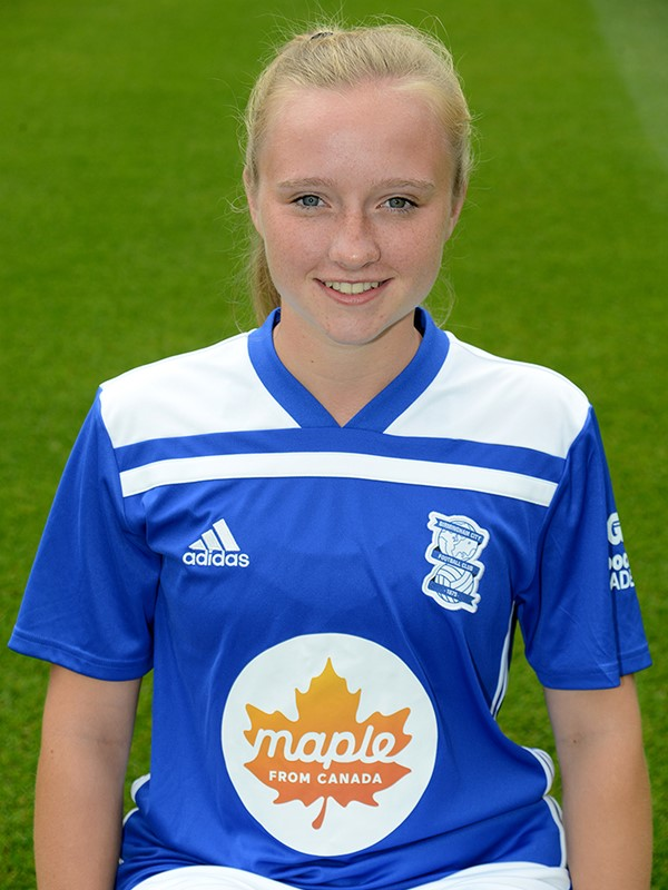 27 - Hannah Kenny - midfielder - Women's