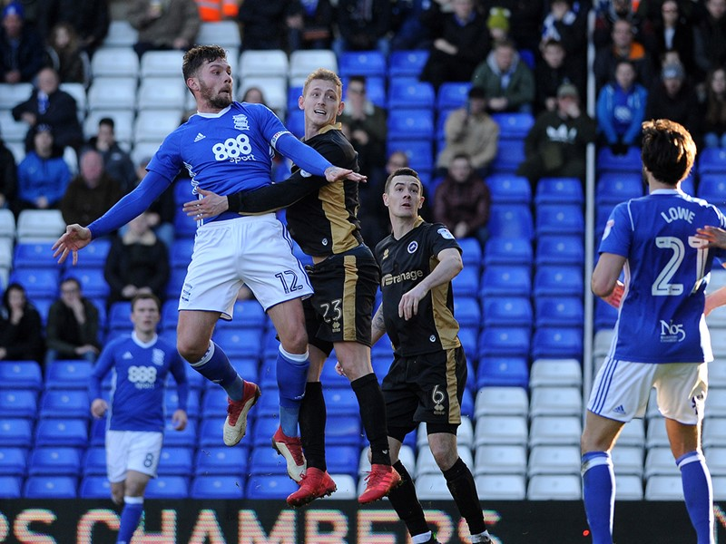 Harlee Dean in action against Millwall.