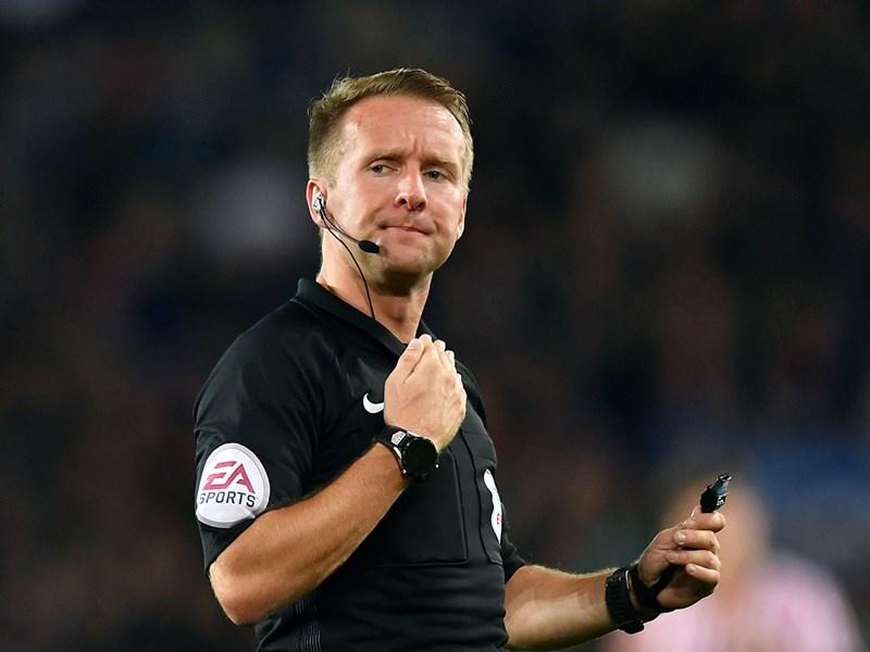 Referee Oliver Langford.