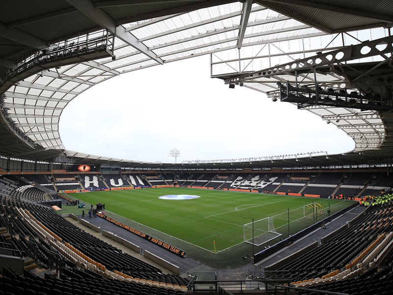 The KCOM Stadium.