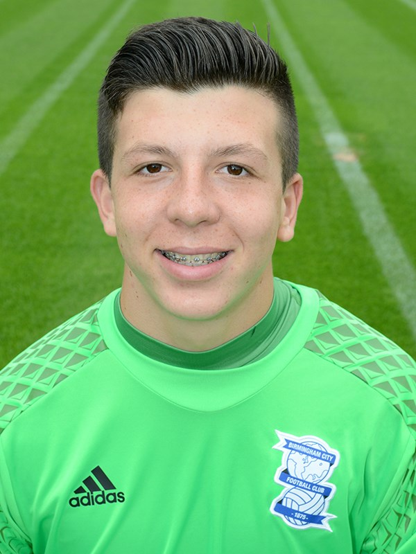 Adam Siviter - goalkeeper - U18s