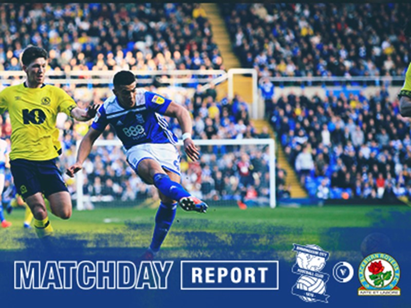 Che Adams fires home his 20th goal of the season for Blues.