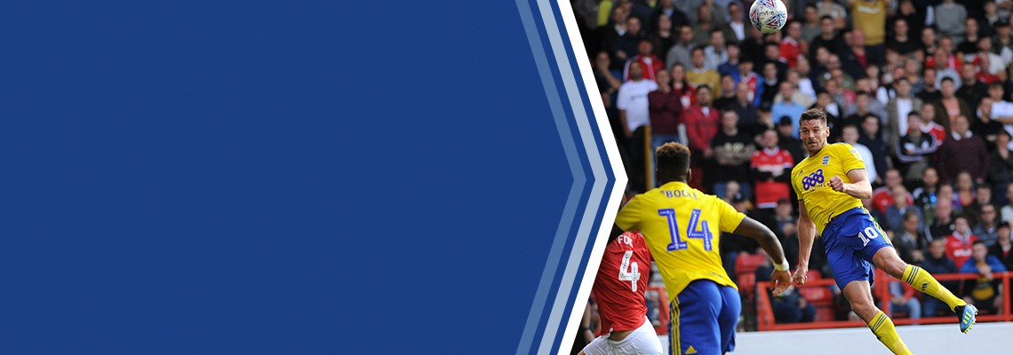 Lukas Jutkiewicz heads Blues into the lead against Forest.