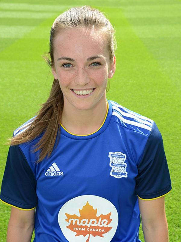 7 - Chloe Arthur - midfielder - Women's