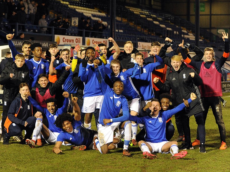 Blues Under-18s will be looking to repeat their Bury success.