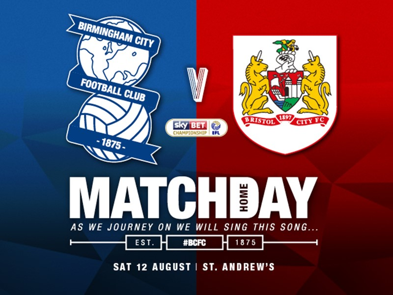 Blues v Bristol City ticket details