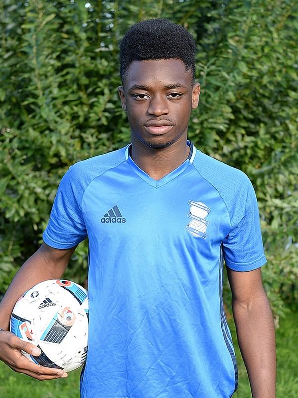 Nick Okoro - forward - U18s