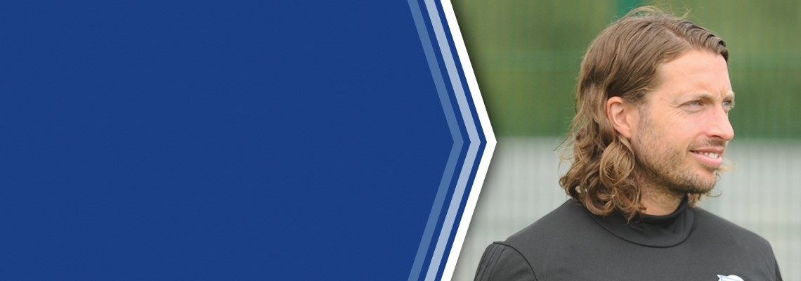 Stuart English, Blues Academy Head of Coaching.