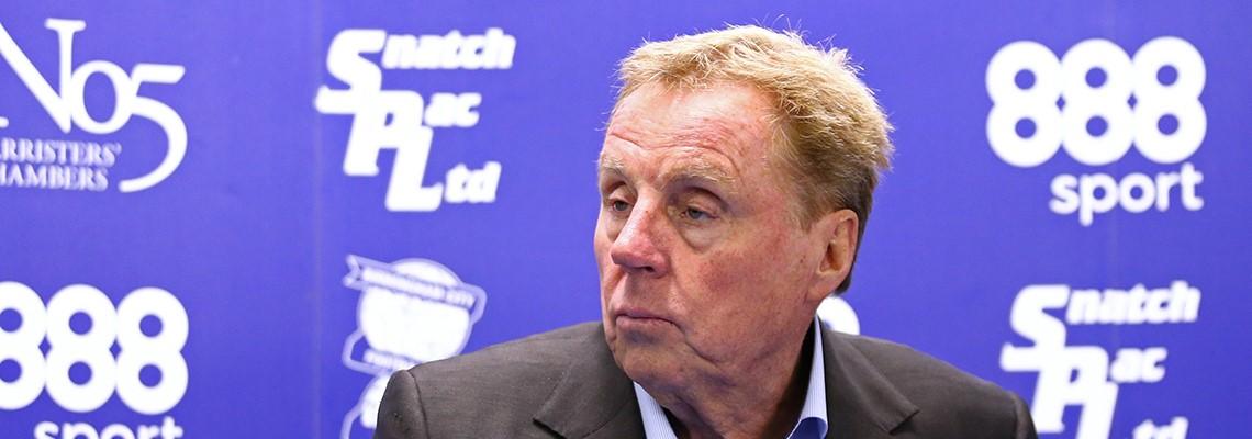 Blue boss Harry Redknapp