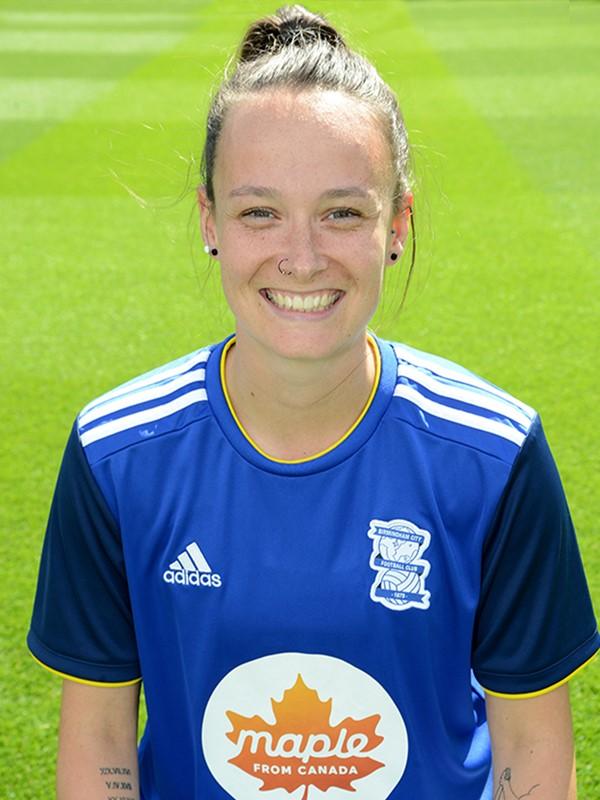 11 - Abbi Grant - midfielder - Women's