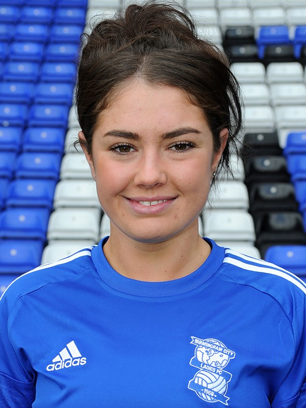 23 - Coral-Jade Haines - midfielder - Ladies