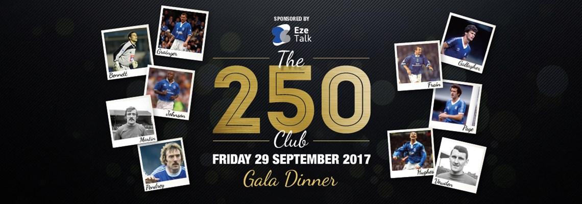 The 250 Club Gala Dinner