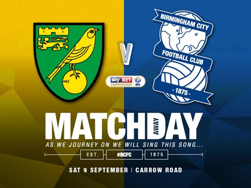 Norwich City v Blues