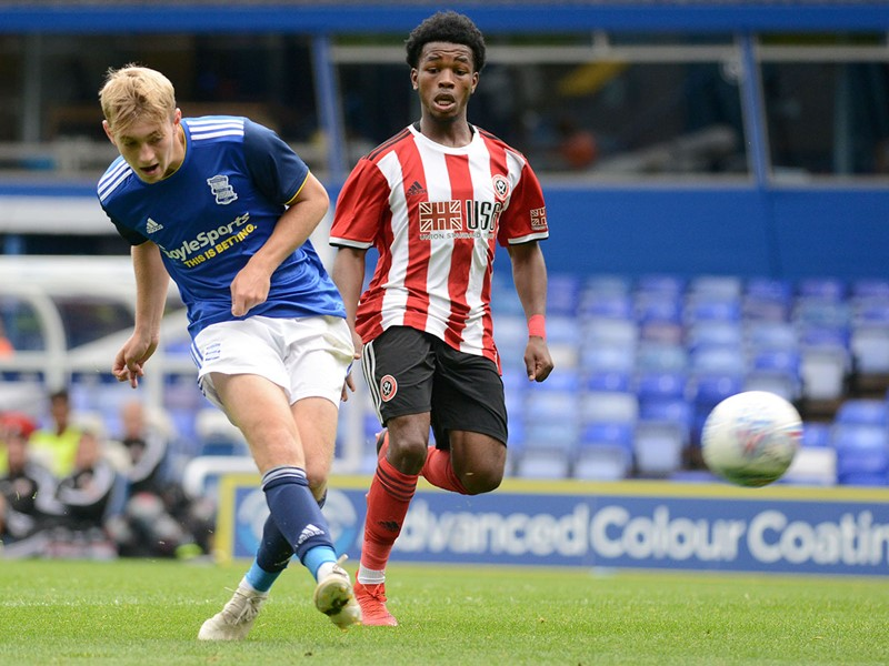 Jack Concannon scores for Blues Under-23s