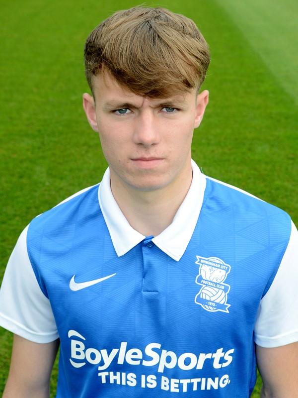 Kyle Hurst - midfielder - U23s