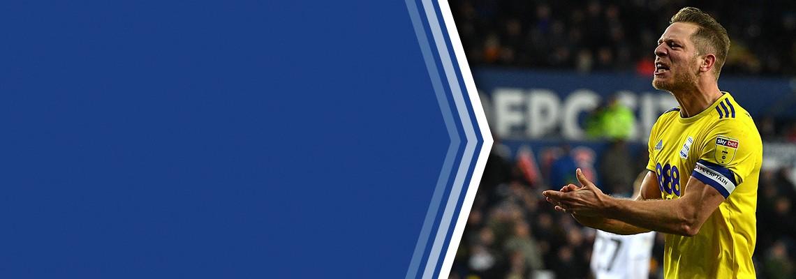 Blues captain Michael Morrison.
