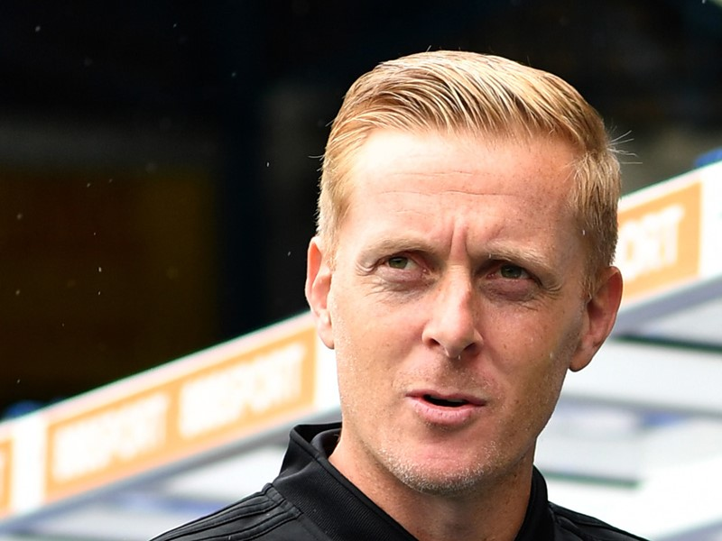 Blues Manager Gary Monk.
