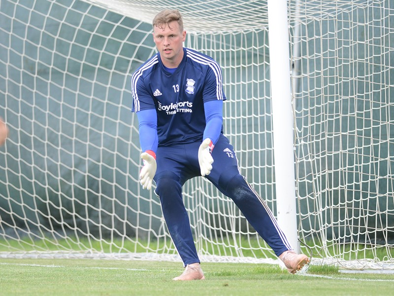 David Stockdale in training in Portugal
