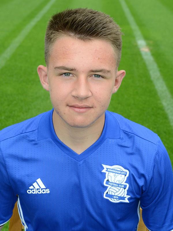 Caolan Boyd-Munce - midfielder - U18s