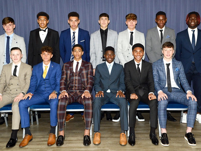 Blues' new scholars 2019/20