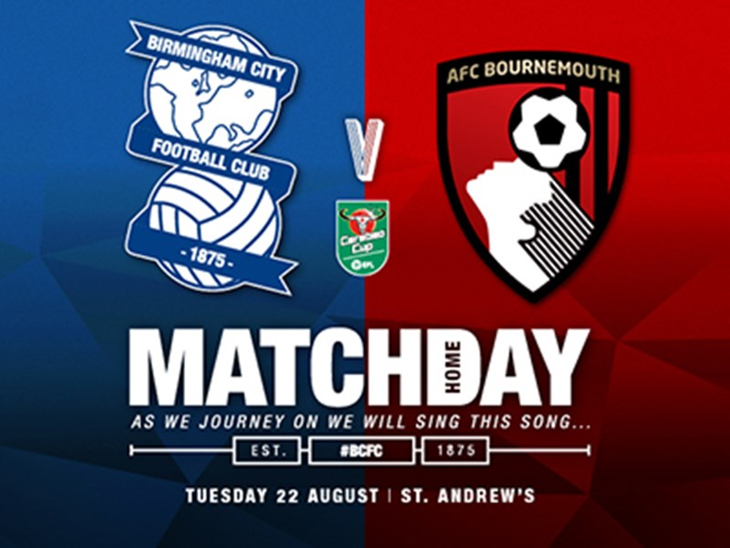 Blues v AFC Bournemouth