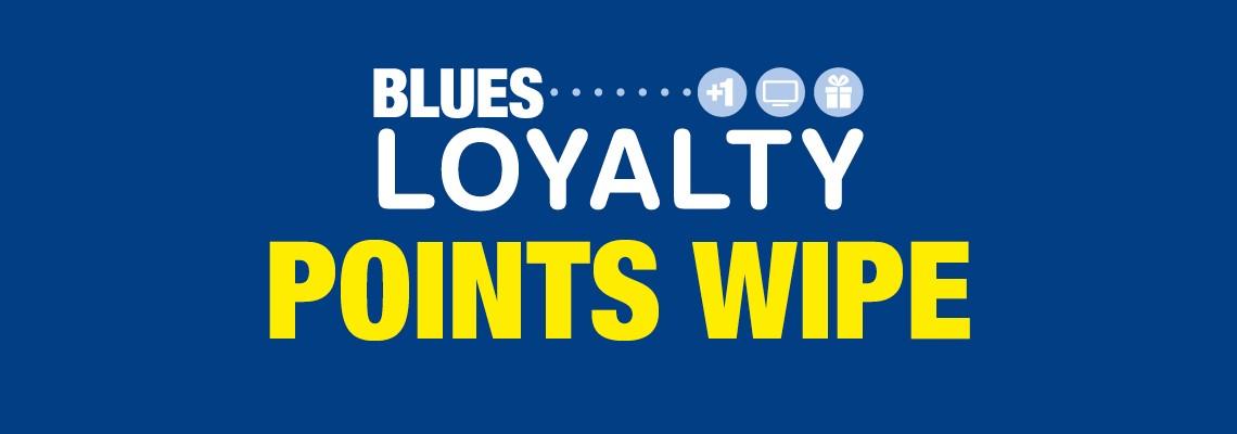 Blues Loyalty wipe