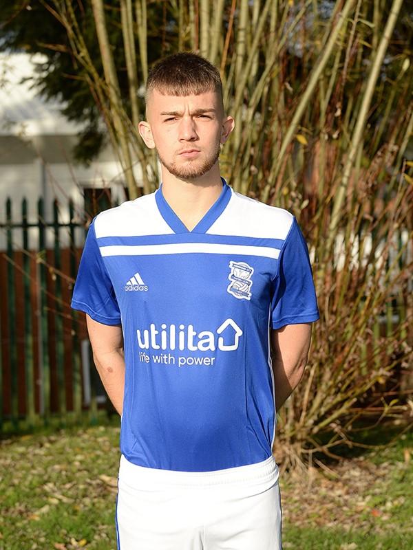 George Baker - midfielder - U18s