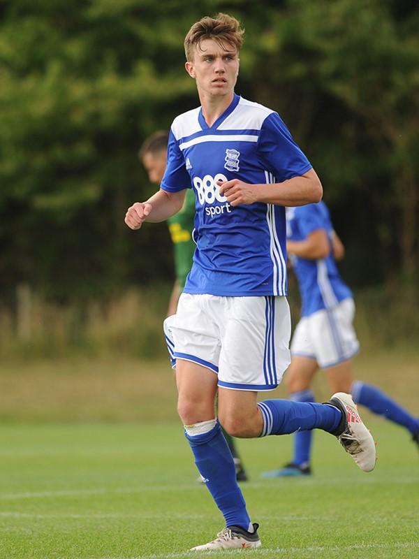 Cameron McGilp - midfielder - U23s