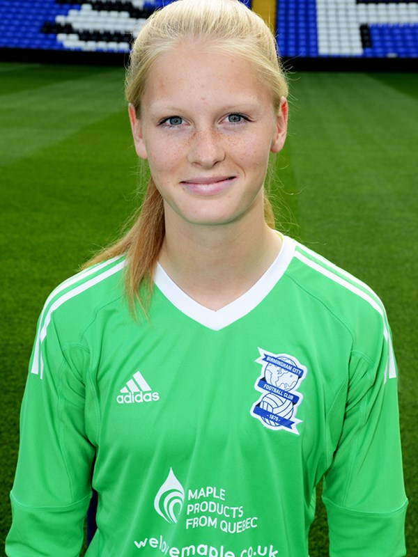 28 - Frances Stenson - goalkeeper - Ladies