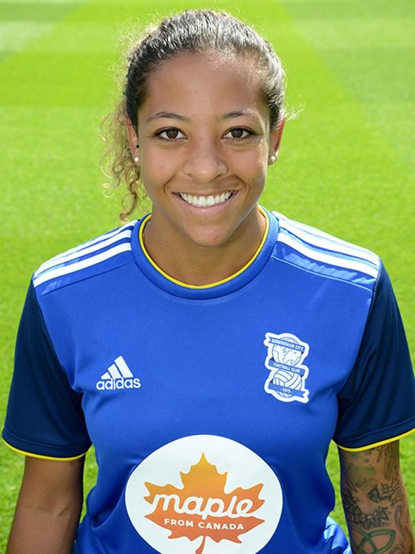 15 - Adrienne Jordan - defender - Women's