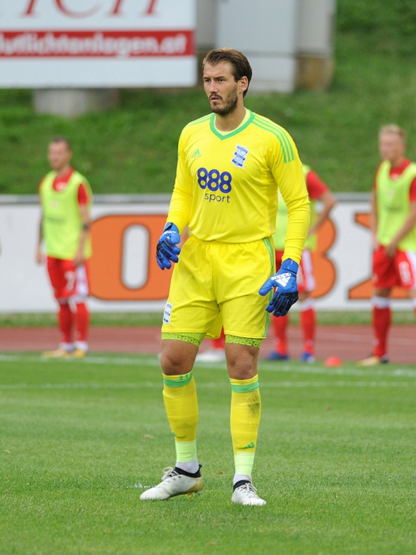 1 - Adam Legzdins - goalkeeper - First Team