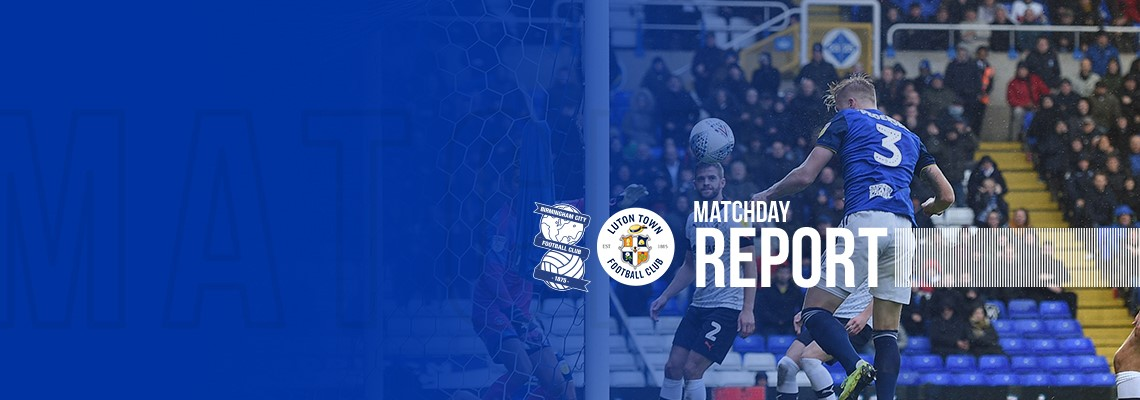 Kristian Pedersen puts Blues into the lead against The Hatters