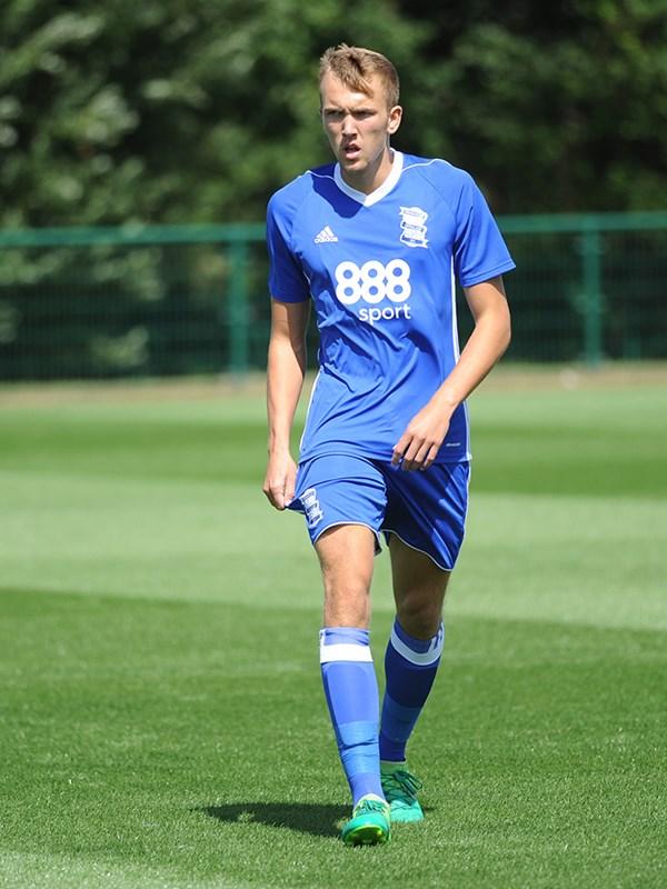 Olly Mulders - midfielder - U23s