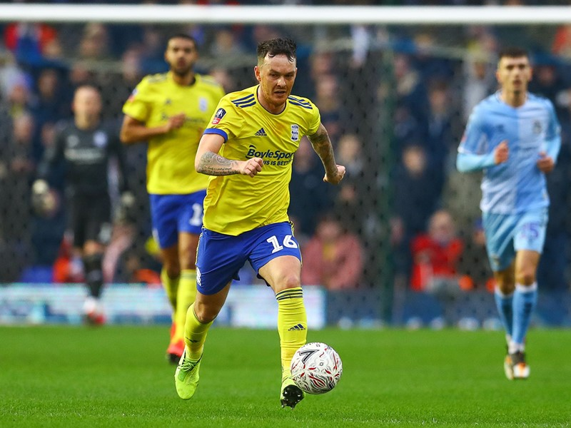 Josh McEachran in action against Coventry.