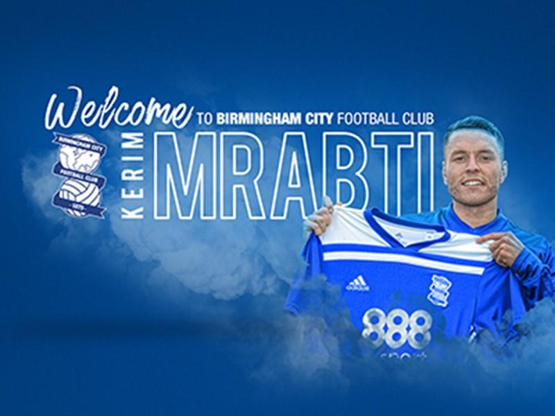 New signing Kerim Mrbati.