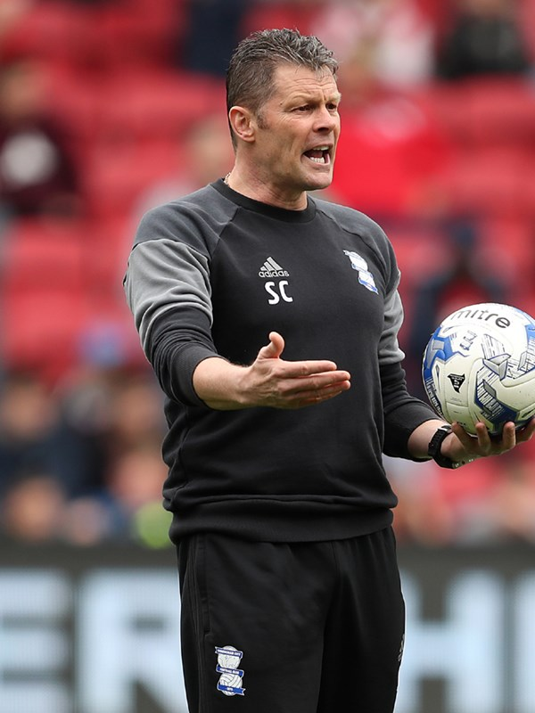 Steve Cotterill - first team manager - First Team